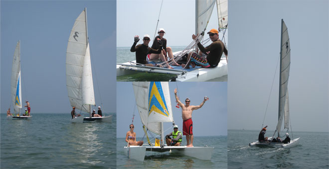 sailing lessons pranburi thailand